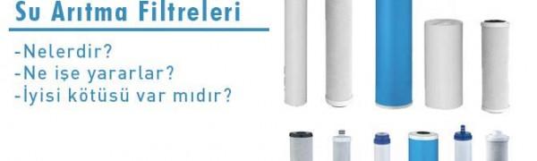 Su Arıtma Filtresi Nedir? Ne İşe Yararlar?